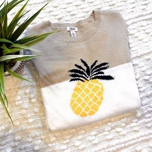 IZOD Pineapple Sweater
